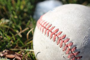 What is a baseball made of