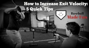 how to increase exit velocity